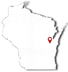 Wisconsin map location of Schmidt Building And Equipment, LLC.