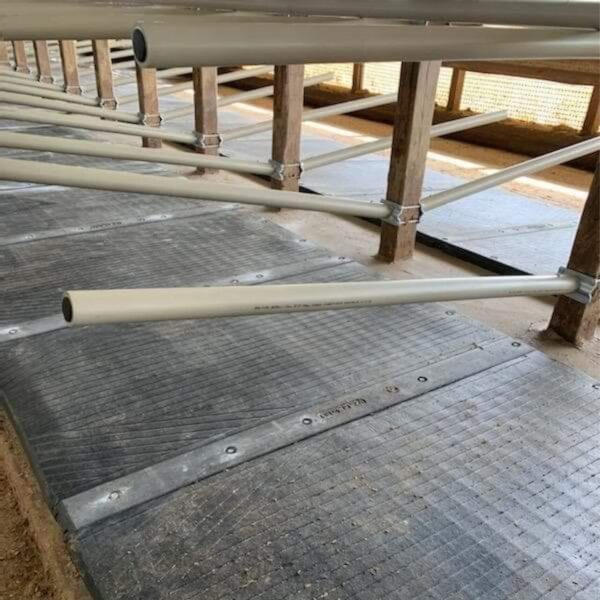 Agromatic Flexible Freestall System in use.