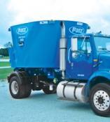 PATZ 1200 Series Truck TMR Vertical Mixer.