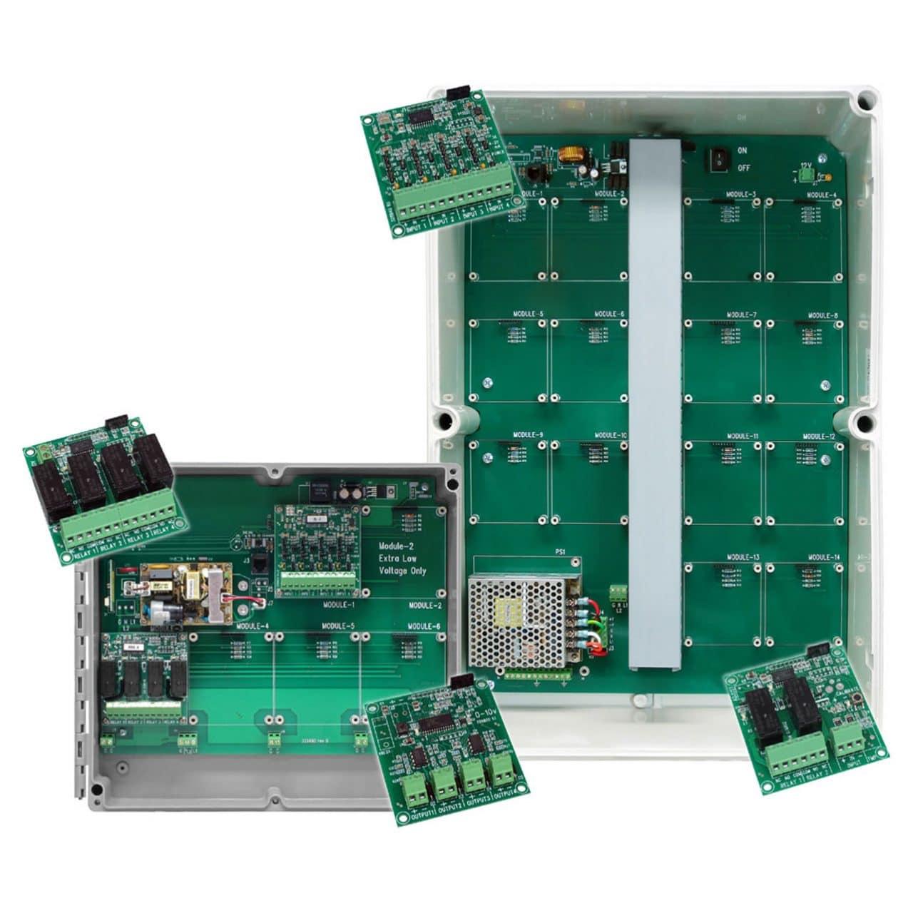 Phason AutoFlex Connect inside circuit boards.