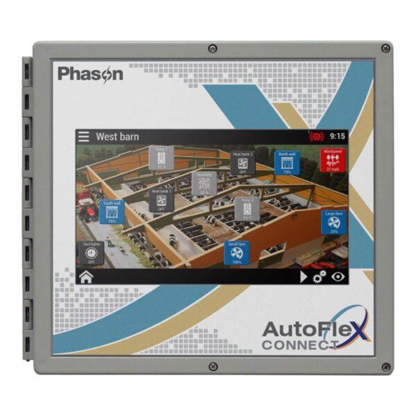 Phason AutoFlex Connect front panel.
