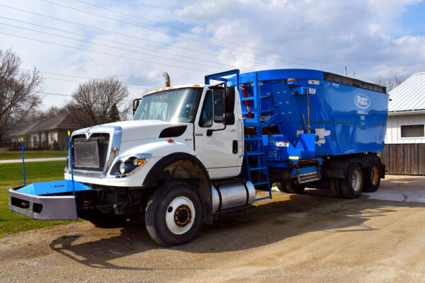 Used PATZ 2400 Series II Truck Mixer for sale.