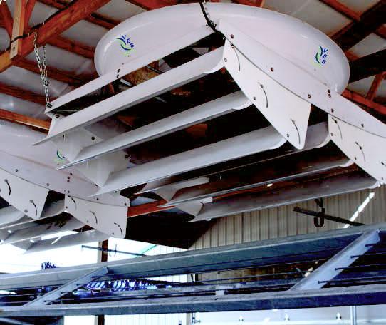 VES-Artex Cyclone Fans.