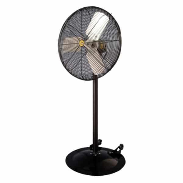 J&D Heavy Duty Industrial Pedestal Fan.