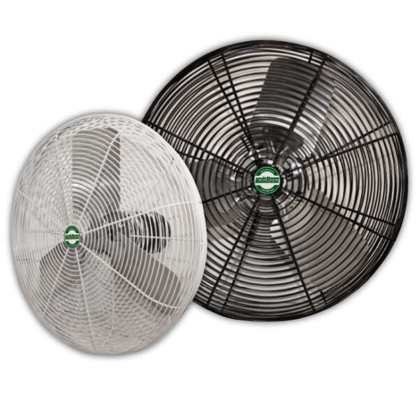 J&D High Output Deluxe Basket Fan (2 colors: White and Black).