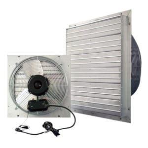 J&D Indoor/Outdoor ES Shutter Fan.