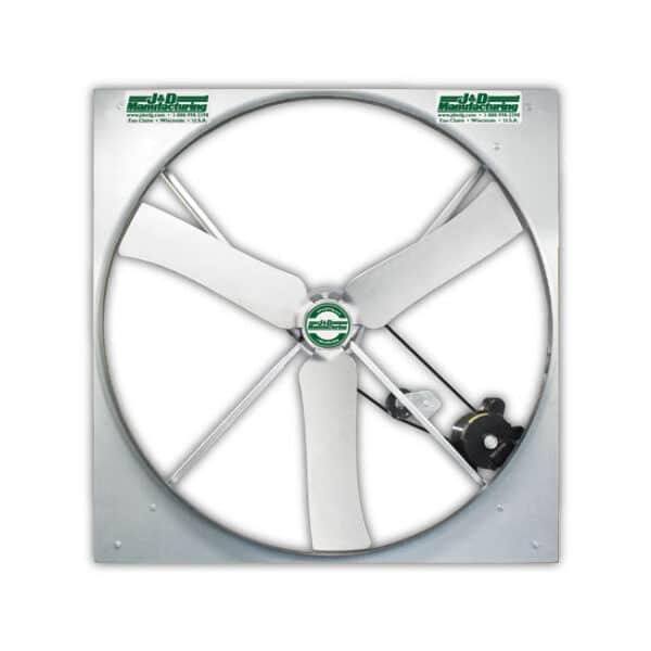 J&D Large Panel Fan. Belt Drive (50 plus inch model).