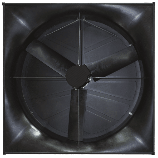 J&D Magnum Exhaust Fan rear view.
