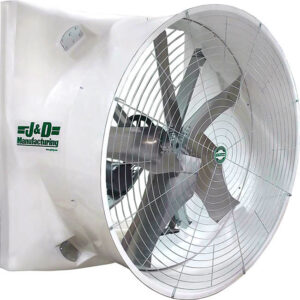 """J&D Mega Storm 72"""" Exhaust Fan."""