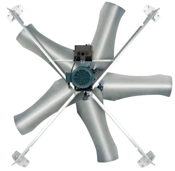 J&D Mega Torque adjustment brackets with the fan.